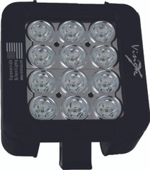 "5"" XMITTER PRIME DOUBLE STACK LED BAR BLACK TWELVE 3-WATT LED'S 60 DEGREE WIDE BEAM. Vision X XIL-P2.660"