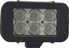 "5"" XMITTER PRIME LED BAR BLACK SIX 3-WATT LED'S 60 DEGREE WIDE BEAM. Vision X XIL-P660"