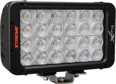 "8"" XMITTER PRIME XTREME DOUBLE STACK LED BAR BLACK TWENTY FOUR 5-WATT LED'S 30ºX65º DEGREE ELLIPTICAL BEAM. Vision X XIL-PX2.12e3065"