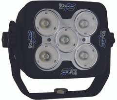 "4"" SQUARE SOLSTICE PRIME BLACK FIVE 10-WATT LED 20 DEGREE NARROW BEAM. Vision X XIL-SP520.4300k"
