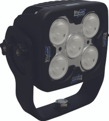 "4"" SQUARE SOLSTICE PRIME BLACK FIVE 10-WATT LED 40 DEGREE WIDE BEAM. Vision X XIL-SP540.4300k"