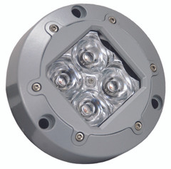 "4.13"" SUBAQUA LED LIGHT 4 AMBER 3W LED'S 10° NARROW. Vision X XIL-U40A"