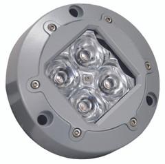 "4.13"" SUBAQUA LED LIGHT 4 AMBER 3W LED'S 10° NARROW. Vision X XIL-U40A"