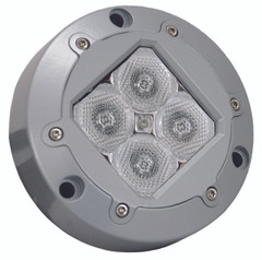 "4.13"" SUBAQUA LED LIGHT 4 BLUE 3W LED'S 40° WIDE. Vision X XIL-U41A"