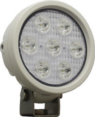 "4"" ROUND UTILITY MARKET WHITE WORK LIGHT SEVEN 3-WATT LED'S 10 DEGREE NARROW BEAM. Vision X XIL-UM4010W"