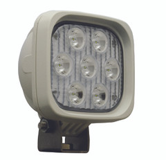 "4"" SQUARE UTILITY MARKET WHITE WORK LIGHT SEVEN 3-WATT LED'S 10 DEGREE NARROW BEAM. Vision X XIL-UM4410W"