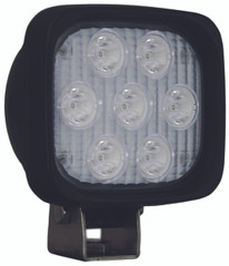 "4"" SQUARE UTILITY MARKET XTREME BLACK WORK LIGHT SEVEN 5-WATT LED'S 10 DEGREE NARROW BEAM. Vision X XIL-UMX4410.4300k"