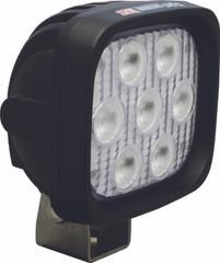 "4"" SQUARE35 WATT UTILITY MARKET XTREME LED LIGHT.  40 DEGREE WIDE BEAM. Vision X XIL-UMX4440.4300k WARM WHITE."