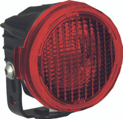 OPTIMUS ROUND SERIES PCV RED COVER WIDE FLOOD BEAM - Vision X PCV-OPR1RWF 9890937