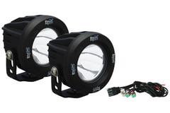 IRON CROSS BUMPER ROUND LED LIGHT KIT.  OP3R-ICKIT