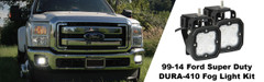 1999-2014 FORD SUPER-DUTY LED FOG LIGHT KIT - Vision X XIL-OE9913FSDDURA 9891200