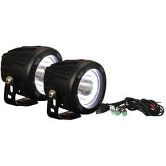 ROUND OPTIMUS HALO LED LIGHT KIT.  TWO LIGHTS AND INSTALL KIT. XIL-OPRH115KIT