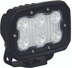 DURALUX WORK LIGHT 6 LED 10 DEGREE - Vision X DURA-610 9891125