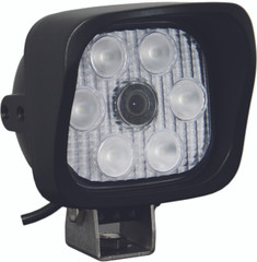 "VIDEO EXTREME LIGHT 4"" SQUARE 60 DEGREE OPTICS 72 DEGREE CAMERA ANGLE SHORT SHIELD USING IR 850NM LED - Vision X VEL-4460CA72SS.IR850 9889863"