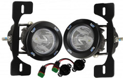 13-15 JEEP JK X FOG LIGHT KIT WITH - Vision X XIL-OE13JKXOPRH 9892474