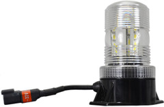 "5.25"" UTILITY MARKET LED STROBE BEACON 36 GREEN LEDS"