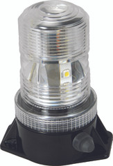 "5.25"" UTILITY MARKET LED BATTERY POWERED BEACON 36 AMBER LEDS - Vision X XIL-UBB36A 9895147"