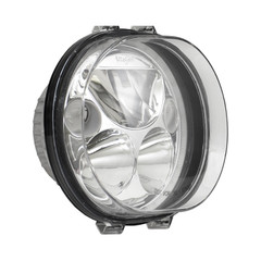 "SINGLE 5.75"" OVAL VORTEX LED HEADLIGHT W/ LOW-HIGH-HALO - Vision X XMC-575OD 9895666"