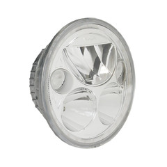 "SINGLE 5.75"" ROUND VORTEX LED HEADLIGHT W/ LOW-HIGH-HALO - Vision X XMC-575RD 9895628"