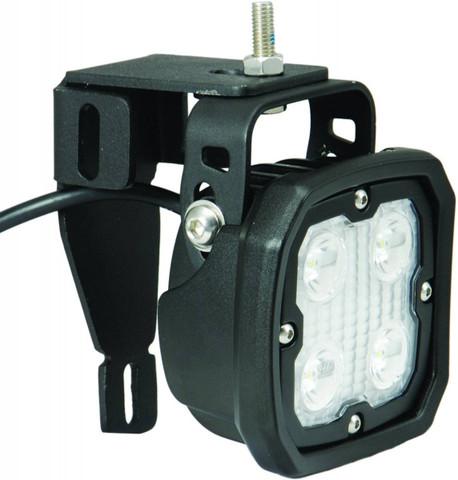1999-2014 Ford Superduty Duralux LED Light Bracket Kit - Vision X XIL-OE9913FSD 9891194
