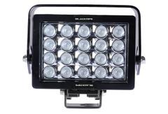 20 LED WORKLIGHT, 140 WATTS 10° Spot Beam Blacktips BLB072010