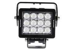 12 LED WORKLIGHT, 84 WATTS.  HORIZONTAL MOUNT 90° Wide Flood Beam  Blacktips  BLB071290H