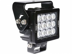 12 LED WORKLIGHT, 84 WATTS.  60° Flood Beam  Blacktips  BLB071260L