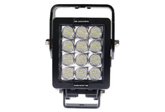 12 LED WORKLIGHT, 84 WATTS.  VERTICAL MOUNT 30° x 65° Elliptical (Oval) Beam  Blacktips  BLB07123065