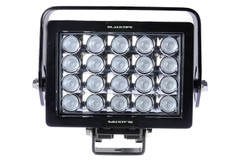 20 LED WORKLIGHT, 140 WATTS  90° Wide Flood Beam  Blacktips  BLB072090