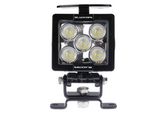 5 LED WORKLIGHT WITH HANDLE, 35 WATTS  90° Wide Flood Beam  Blacktips  BLB070590H
