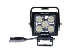 5 LED WORKLIGHT, 35 WATTS  30° x 65° Elliptical (Oval) Beam  Blacktips  BLB07053065