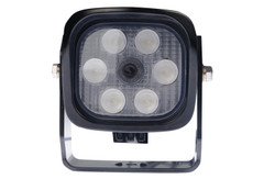 6 LED WORKLIGHT WITH CAMERA, 42 WATTS  60° Flood Beam  Blacktips  BCB050672