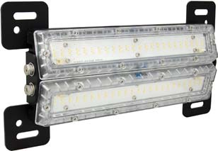 "40 Watt 24"" Marine Grade Shockwave LED Cabin Light. Clear Lens - Vision X MAR-SWD2440"