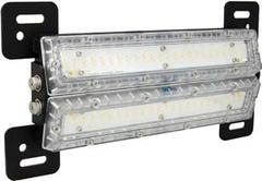 "80 Watt 48"" Marine Grade Shockwave LED Cabin Light. Clear Lens - MAR-SWD4880"