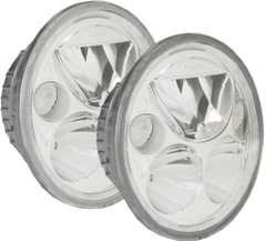 "5.75"" ROUND VORTEX LED HEADLIGHT KIT with LED-HALO - Vision X XIL-575RDKIT 9895611"