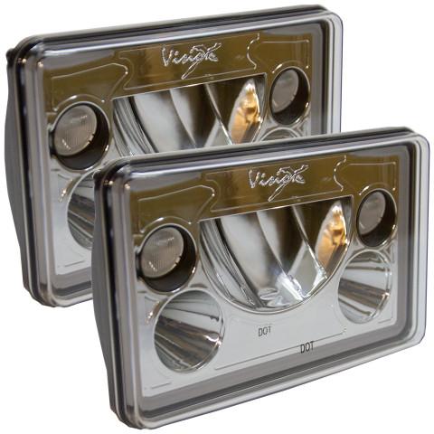 Vision X 4 x 6 LED Headlight Kit.   XIL-46DKIT 9897820