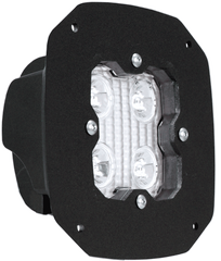 FLUSH MOUNT WITH DURALUX WORK LIGHT 4 LED 10 DEGREE Vision X DURA-410FLUSH 9911434