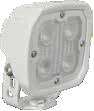 DURALUX WORK LIGHT 4 LED 10 DEGREE. WHITE HOUSING Vision X DURA-410W 9891477