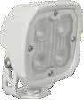 DURALUX WORK LIGHT 4 LED 10 DEGREE. WHITE HOUSING Vision X DURA-410W 9891477