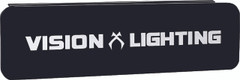 "12"" BLACK STREET LEGAL COVER FOR THE XPR/XPI 6 LED STRAIGHT OPTIC Vision X PCV-XP6SBL 9898803"