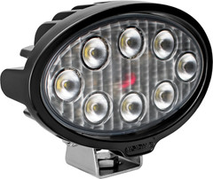 VL SERIES WORK LIGHT OVAL EIGHT 5-WATT LEDS 40 DEGREE FLOOD PATTERN NO CONNECTOR Vision X VLO050840 9911274