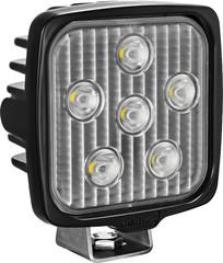 VL SERIES WORK LIGHT SQUARE SIX 5-WATT LEDS 40 DEGREE FLOOD PATTERN NO CONNECTOR Vision X VLS050640 9911304