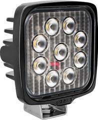 VL SERIES WORK LIGHT SQUARE NINE 5-WATT LEDS 40 DEGREE FLOOD PATTERN NO CONNECTOR Vision X VLS050940 9911311