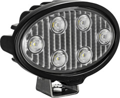 VISION WORK LIGHT SERIES OVAL SIX 5-WATT LEDS 40 DEGREE FLOOD PATTERN WITH DUETSCH CONNECTOR Vision X VWO050640 9911328