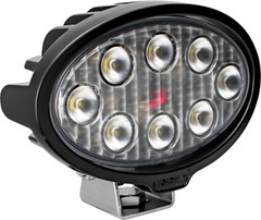 VISION WORK LIGHT SERIES OVAL EIGHT 5-WATT LEDS 40 DEGREE FLOOD PATTERN WITH DUETSCH CONNECTOR Vision X VWO050840 9911335
