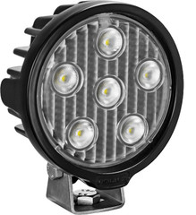 VISION WORK LIGHT SERIES ROUND SIX 5-WATT LEDS 40 DEGREE FLOOD PATTERN WITH DUETSCH CONNECTOR Vision X VWR050640 9911342