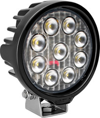 VISION WORK LIGHT SERIES ROUND NINE 5-WATT LEDS 40 DEGREE FLOOD PATTERN WITH DUETSCH CONNECTOR Vision X VWR050940 9911359