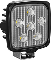 VISION WORK LIGHT SERIES SQUARE SIX 5-WATT LEDS 40 DEGREE FLOOD PATTERN WITH DUETSCH CONNECTOR Vision X VWS050640 9911366