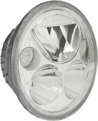 "SINGLE 5.75"" ROUND VORTEX LED HEADLIGHT W/ LOW-HIGH-HALO Vision X XIL-575RD 9895604"
