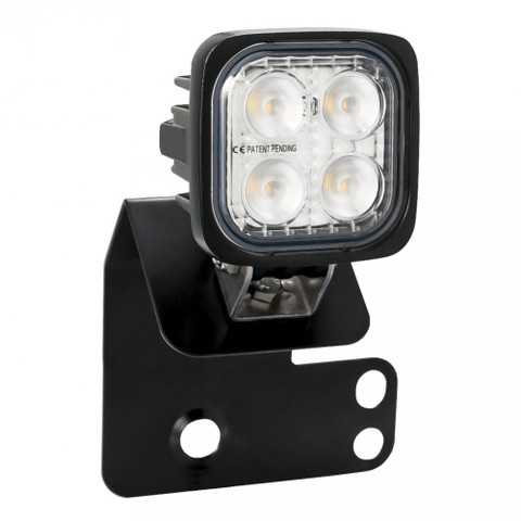 SINGLE RIGHT 2/4 SEAT RZR D PILLAR MOUNT AND DURA 4 LED 60 DEGREE LIGHT KIT (DRIVER'S SIDE) Vision X XIL-OED08RZRRDURA460 9910956